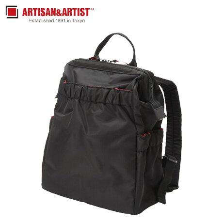 アルティザン&アーティスト ARTISAN&ARTIST リュック バッグ バックパック レディース CLASP STANDARD ブラック 黒 KG2-704 [1/30 新入荷]