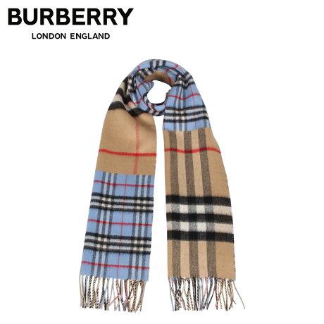 バーバリー BURBERRY マフラー スカーフ メンズ レディース チェック カシミア MUFFLER ブルー 8022478 [1/28 新入荷]