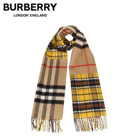 バーバリー BURBERRY マフラー スカーフ メンズ レディース チェック カシミア MUFFLER ブラウン 8022484 [1/28 新入荷]