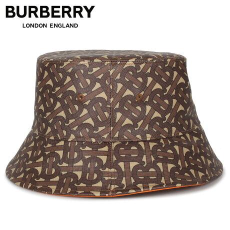 バーバリー BURBERRY ハット キャップ 帽子 バケットハット メンズ レディース BUCKET HAT ブラウン 8023808 [1/28 新入荷]