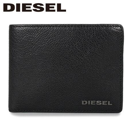 ディーゼル DIESEL 財布 二つ折り メンズ NEELA XS ブラック 黒 X03919-PR271 [1/24 新入荷]
