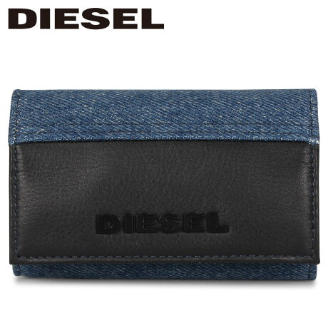ディーゼル DIESEL キーケース キーリング キーホルダー メンズ レディース 6連 KEYCASE O-KEYHOLDER ブラック 黒 X06319-P2553-H4933 [1/17 新入荷]