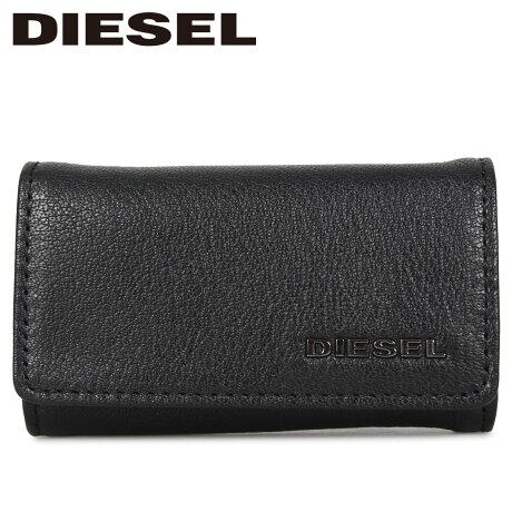 ディーゼル DIESEL キーケース キーホルダー メンズ KEYCASE II ブラック 黒 X06629-P0396 [1/24 新入荷]