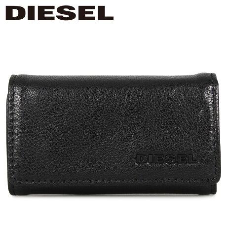 ディーゼル DIESEL キーケース キーホルダー メンズ KEYCASE II ブラック 黒 X06640-P3043 [1/24 新入荷]