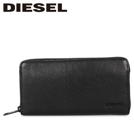 ディーゼル DIESEL 財布 長財布 メンズ 24 ZIP ブラック 黒 X06641-P3043 [1/24 新入荷]