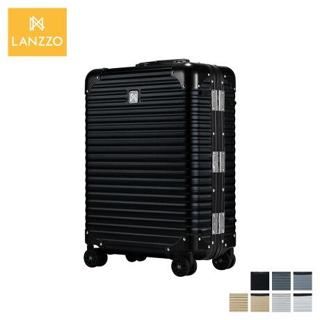 ランツォ LANZZO スーツケース キャリーケース キャリーバッグ メンズ レディース 34L NORMAN ブラック グレー ゴールド シルバー 黒 LANZ-621 [1/28 新入荷]