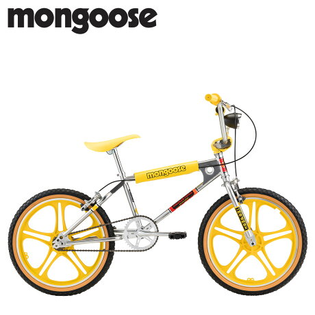 Mongoose マングース ストレンジャー シングス マックス BMX 自転車 20インチ 子供用 キッズ ストリート フリースタイル STRANGER THINGS MAX イエロー R0995WMDS [予約 2/14 新入荷予定]