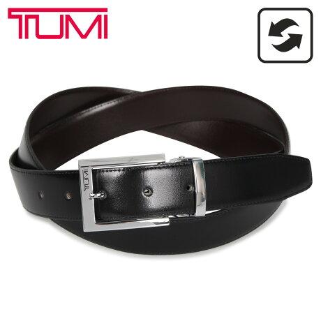 TUMI トゥミ ベルト レザーベルト メンズ 本革 リバーシブル フランス産 REVERSIBLE BELT ブラック ブラウン 黒 015468NSDB-OS [予約 1/27 新入荷予定]