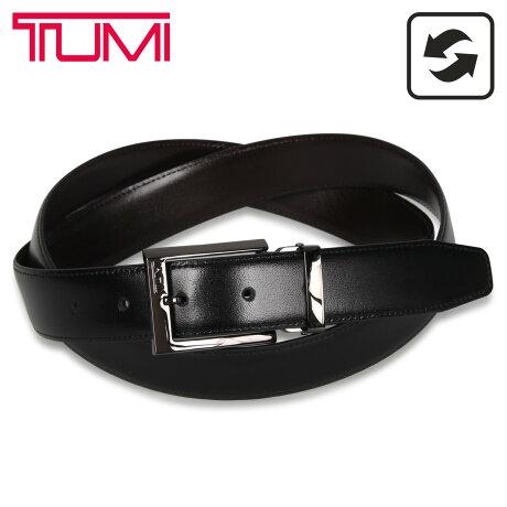 TUMI トゥミ ベルト レザーベルト メンズ 本革 リバーシブル フランス産 REVERSIBLE BELT ブラック ブラウン 黒 1321314 [予約 1/27 新入荷予定]