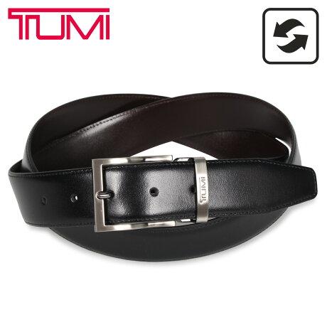 TUMI トゥミ ベルト レザーベルト メンズ 本革 リバーシブル フランス産 REVERSIBLE BELT ブラック ブラウン 黒 1391468 [予約 1/27 新入荷予定]