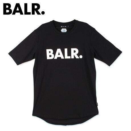 ボーラー BALR. Tシャツ 半袖 メンズ クルーネック BRAND SHIRT ブラック 黒 [2/7 新入荷]