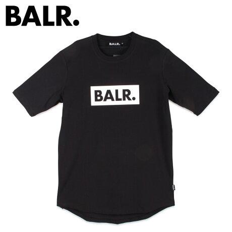 ボーラー BALR. Tシャツ 半袖 メンズ クルーネック CLUB SHIRT ブラック 黒 [2/7 新入荷]