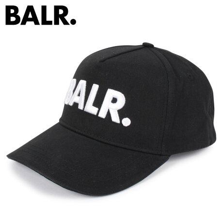 ボーラー BALR. キャップ 帽子 メンズ CLASSIC OXFORD CAP BLACK ブラック 黒 [2/7 新入荷]