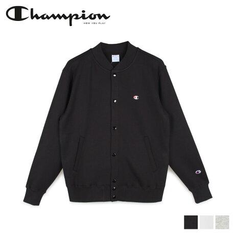 チャンピオン Champion スウェット カーディガン ジャケット メンズ SWEAT CARDIGAN ブラック ホワイト グレー 黒 白 C3-Q003 [2/6 新入荷]