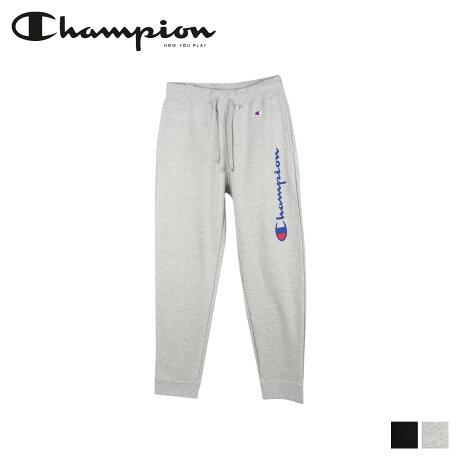 チャンピオン Champion スウェット パンツ メンズ SWEAT PANT ブラック グレー 黒 C3-Q203 [2/6 新入荷]