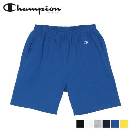 チャンピオン Champion スウェット ショートパンツ ハーフパンツ メンズ SWEAT SHIRT PANT ブラック ホワイト グレー ネイビー ブルー イエロー 黒 白 C5-R501 [2/17 新入荷]