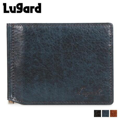 ラガード Lugard 青木鞄 ジースリー 財布 二つ折り マネークリップ メンズ G3 WALLET ブラック ネイビー ブラウン 黒 5209 [2/14 新入荷]