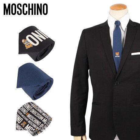 モスキーノ MOSCHINO ネクタイ メンズ イタリア製 TIE [予約 2/7 新入荷予定]