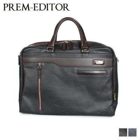 プレム エディター PREM-EDITOR バッグ ビジネスバッグ ショルダーバッグ メンズ 10L BRIEF BAG ブラック ブルー 黒 02792 [2/17 新入荷]