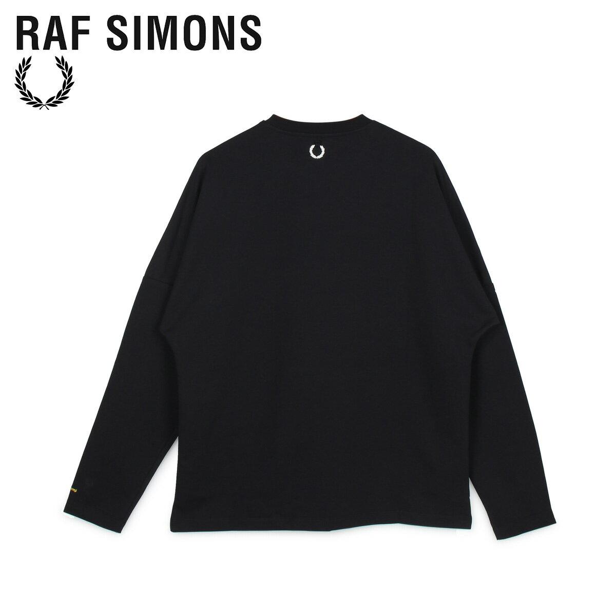 トップス, Tシャツ・カットソー FRED PERRY RAF SIMONS T T LONG SLEEVE T-SHIRT SM8136