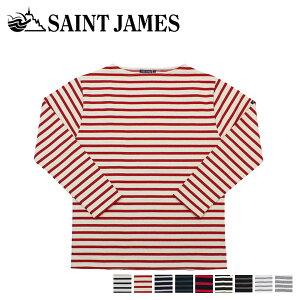 【最大600円OFFクーポン】 SAINT JAMES セントジェームス Tシャツ 長袖 ギルト メンズ レディース ボーダー GUILDO オフホワイト ネイビー 2501