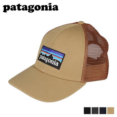 patagonia パタゴニア ロゴ ロープロ トラッカー キャップ 帽子 メンズ レディース P-6 LOGO LOPRO TRUCKER HAT ブラック グレー ネイビー ベージュ 黒 38283