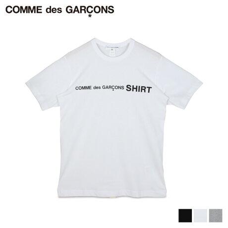 COMME des GARCONS コムデギャルソン Tシャツ 半袖 メンズ レディース クルーネック TSHIRT ブラック ホワイト グレー 黒 白 W28116