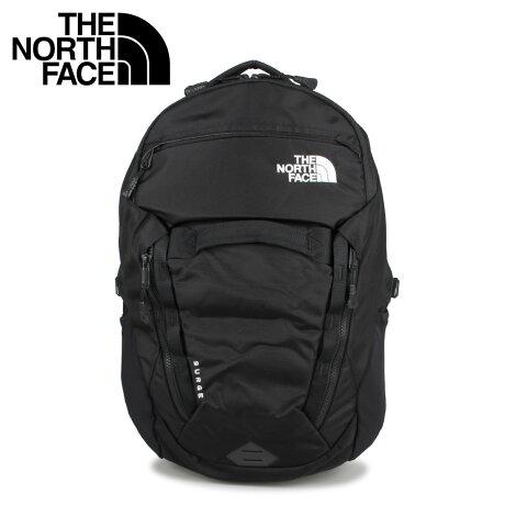 THE NORTH FACE ノースフェイス リュック バッグ バックパック サージ メンズ レディース 31L SURGE ブラック 黒 NF0A3ETV