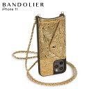 【最大600円OFFクーポン】 バンドリヤー BANDOLIER iPhone11 ケース スマホ 携帯 ショルダー ……