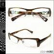 アランミクリ alain mikli メガネ 眼鏡 A0637-27 ブラウン スクウェア セルフレーム サングラス BROWN GLASSES メンズ レディース [N50]