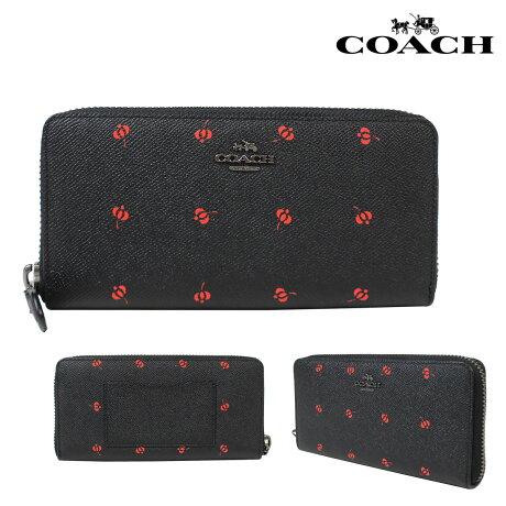 COACH コーチ 財布 長財布 ブティック商品 53445 ブラック レディース