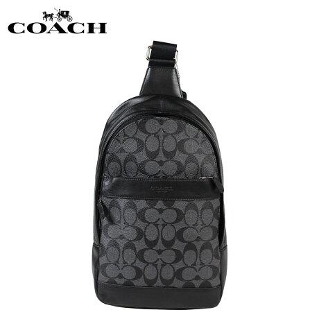 コーチ COACH バッグ ショルダーバッグ メンズ ボディバッグ F54787 チャコール ブラック
