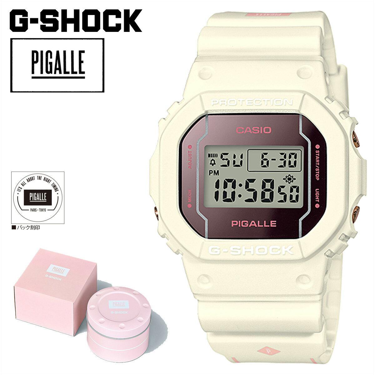 腕時計, メンズ腕時計 CASIO G-SHOCK DW 5600PGW 7JR PIGALLE G- G
