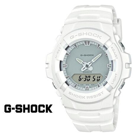 カシオ CASIO G-SHOCK 腕時計 白 G-100CU-7AJF ジーショック Gショック G-ショック メンズ レディース 時計 ホワイト [9/5 再入荷]