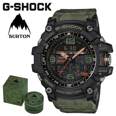 CASIO カシオ G-SHOCK 腕時計 マッドマスター GG-1000BTN-1AJR コラボ MUDMASTER BURTON ジーショック Gショック G-ショック カモフラージュ メンズ レディース [3/12 新入荷]