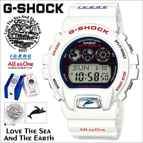 CASIO カシオ G-SHOCK イルカ クジラ 2017 腕時計 GW-6901K-7JR ジーショック Gショック G-ショック ホワイト イルクジ コラボ メンズ [5/17 再入荷]