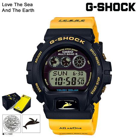 カシオ CASIO G-SHOCK 腕時計 GW-6902K-9JR イルカクジラ 2018 イルクジ イエロー コラボ メンズ レディース [7/12 再入荷]