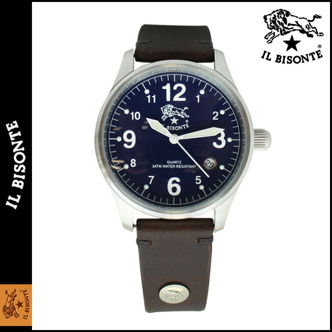 [SOLD OUT] イルビゾンテ IL BISONTE 腕時計 ウォッチ  H0503-P2-132N ブラウン WATCH  メンズ レディース [ あす楽対象外 ]:シュガーオンラインショップ