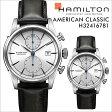 ハミルトン HAMILTON 腕時計 アメリカン クラシック メンズ 時計 43mm AMERICAN CLASSIC SPIRIT LIBERTY AUTO CHRONO H32416781 ブラック 防水 [ あす楽対象外 ]