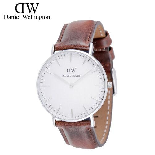 [SOLD OUT] ダニエル ウェリントン Daniel Wellington 腕時計 40ミリ ウォッチ 時計 シルバー CLAS...