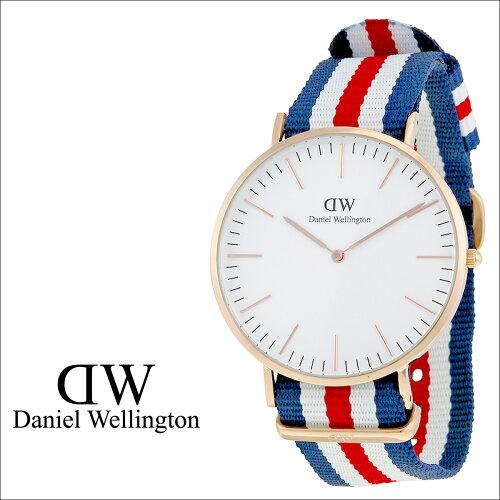 ダニエルウェリントン Daniel Wellington 36mm 腕時計 レディース CLASSIC CANTERBURY LADY ローズ...