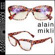 アランミクリ alain mikli メガネ 眼鏡 セルフレーム AL1033-3033 レッド クリア メンズ レディース [N50]