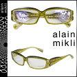アランミクリ alain mikli メガネ 眼鏡 セルフレーム AL1340-B072 イエロー メンズ レディース [N50]