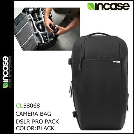 INCASE インケース カメラバッグ バックパック リュック CL58068 ブラック DSLR PRO PACK -NYLON メンズ [3/13 追加入荷]