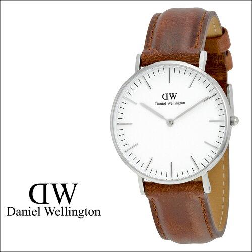 ダニエルウェリントン Daniel Wellington 36mm 腕時計 レディース 0607DW CLASSIC ST MAVES シルバ...