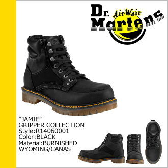 Dr. Martens Dr.Martens 7 holes boots R14060001 JAMIE leather men women