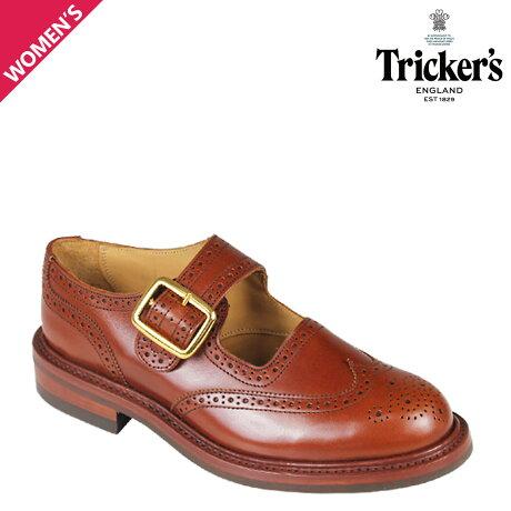 トリッカーズ Tricker's レディース ウイングチップ シューズ BUCKLE L6011 4ワイズ [予約商品 10/18頃入荷予定 追加入荷]