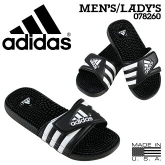 [9000雙愛迪達adidas涼鞋放映裝置涼鞋ADISSAGE 078260黑色人分歧D的]