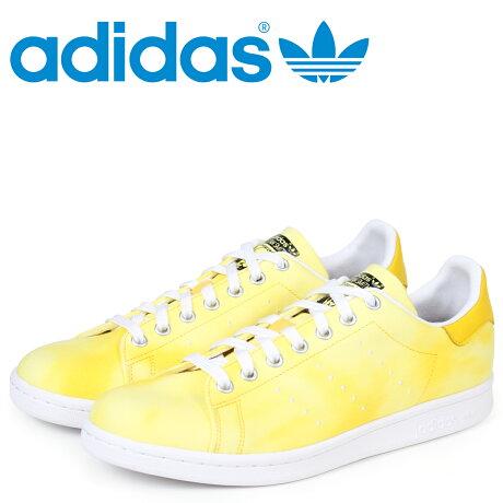 adidas Originals スタンスミス アディダス スニーカー ファレルウィリアムス PW HU HOLI STAN SMITH メンズ コラボ AC7042 イエロー オリジナルス [予約商品 3/20頃入荷予定 新入荷]