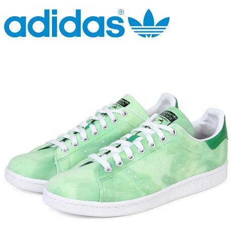 adidas Originals スタンスミス アディダス スニーカー ファレルウィリアムス PW HU HOLI STAN SMITH メンズ コラボ AC7043 グリーン オリジナルス [予約商品 3/20頃入荷予定 新入荷]